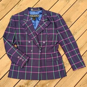 Vintage Escada Wool Jacket size 40